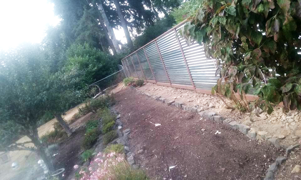 Corrugated Metal Fencing Fence Specialists
