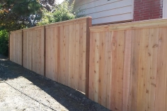 wooden fence milton