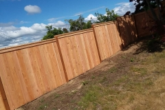 wooden fence tacoma