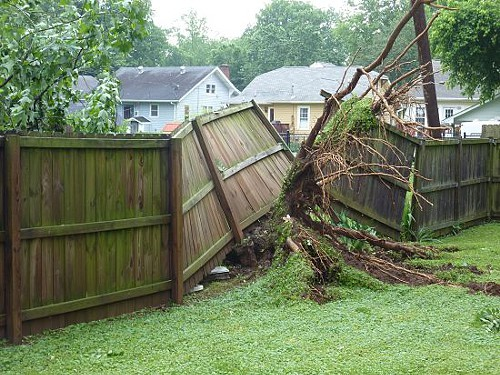Damaged Fences Fence Specialists